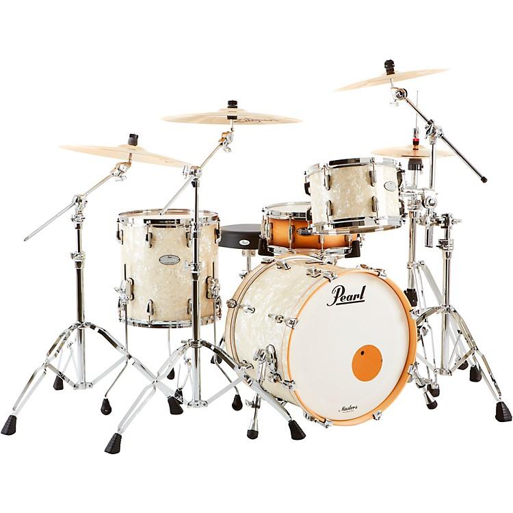 PearlMusic City Custom Masters Maple ReserveNicotine White Marine Pearl (Large)