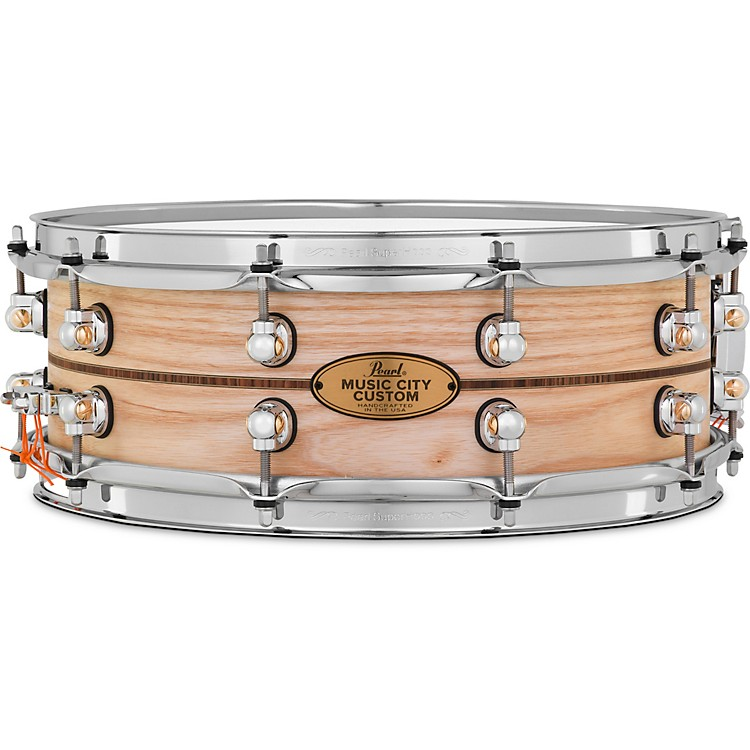 Kingwood Town Center: Pearl Music City Custom Solid Shell Snare Ash With