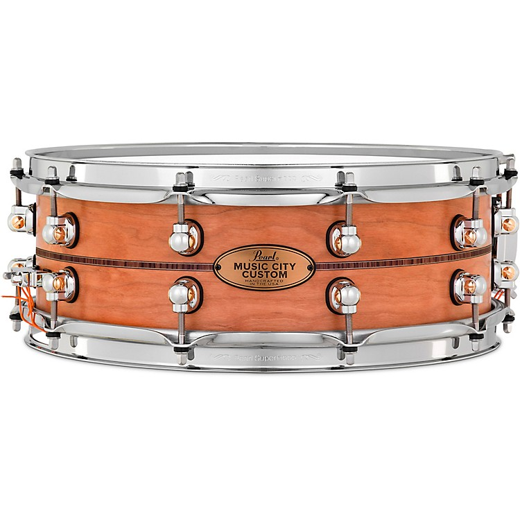 Kingwood Town Center: Pearl Music City Custom Solid Shell Snare Cherry With
