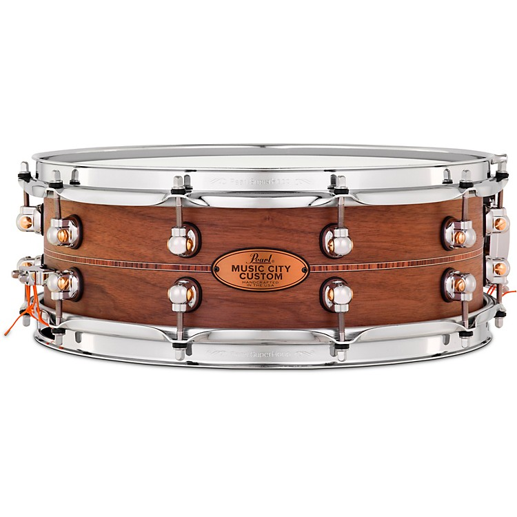 Kingwood Town Center: Pearl Music City Custom Solid Shell Snare Walnut With