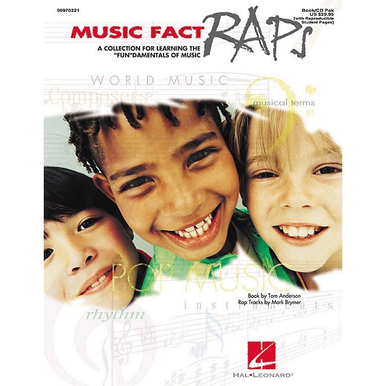 Hal LeonardMusic Fact Raps (Book/CD Pack) Arranged by Mark Brymer