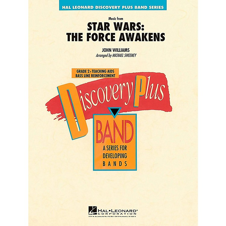 Hal LeonardMusic From Star Wars: The Force Awakens Concert Band Level 2.5 by Michael Sweeney