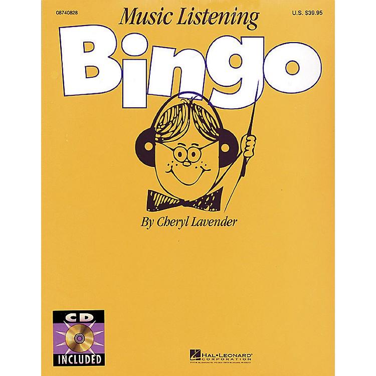 Hal LeonardMusic Listening Bingo