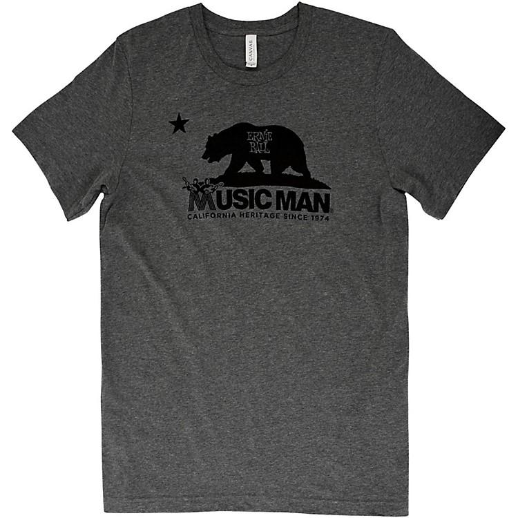 Ernie Ball Music ManMusic Man Bear T-ShirtLargeHeather Gray