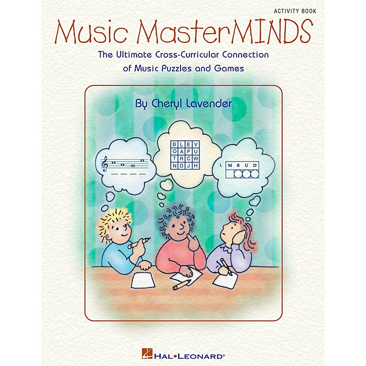 Hal LeonardMusic Masterminds - Ultimate Collection of Puzzles and Games Book