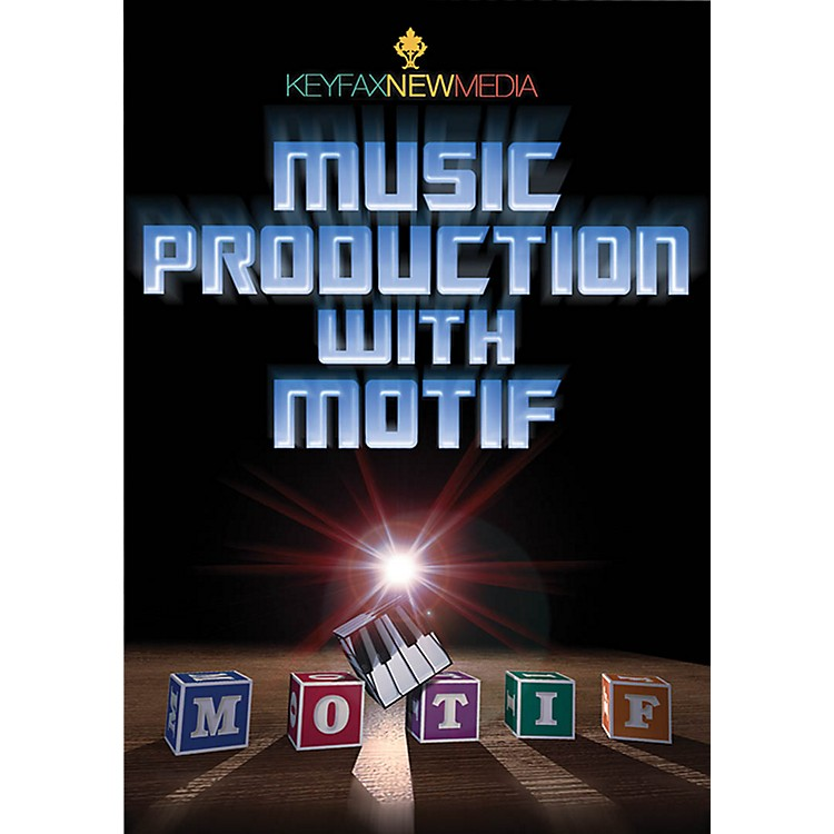 KeyfaxMusic Production with Motif DVD Series DVD Written by Various