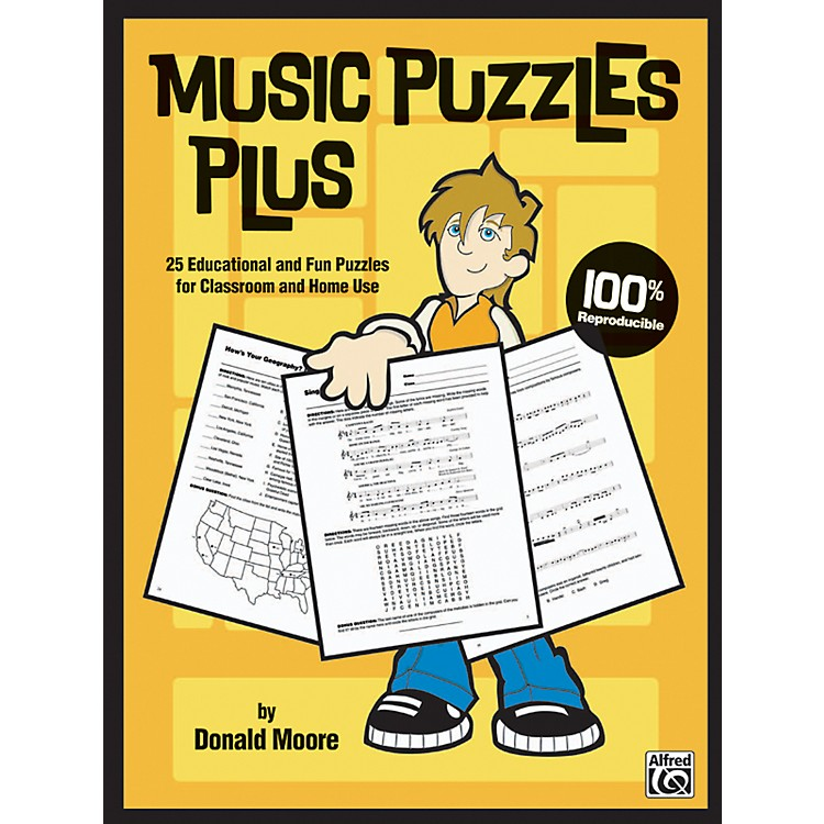 AlfredMusic Puzzles Plus Book