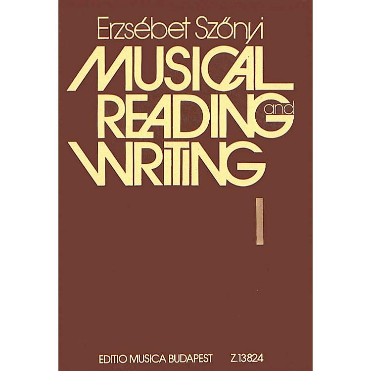 Editio Musica BudapestMusic Reading and Writing (Teacher Book (Lessons 1-50)) EMB Series Softcover by Erzsébet Szönyi
