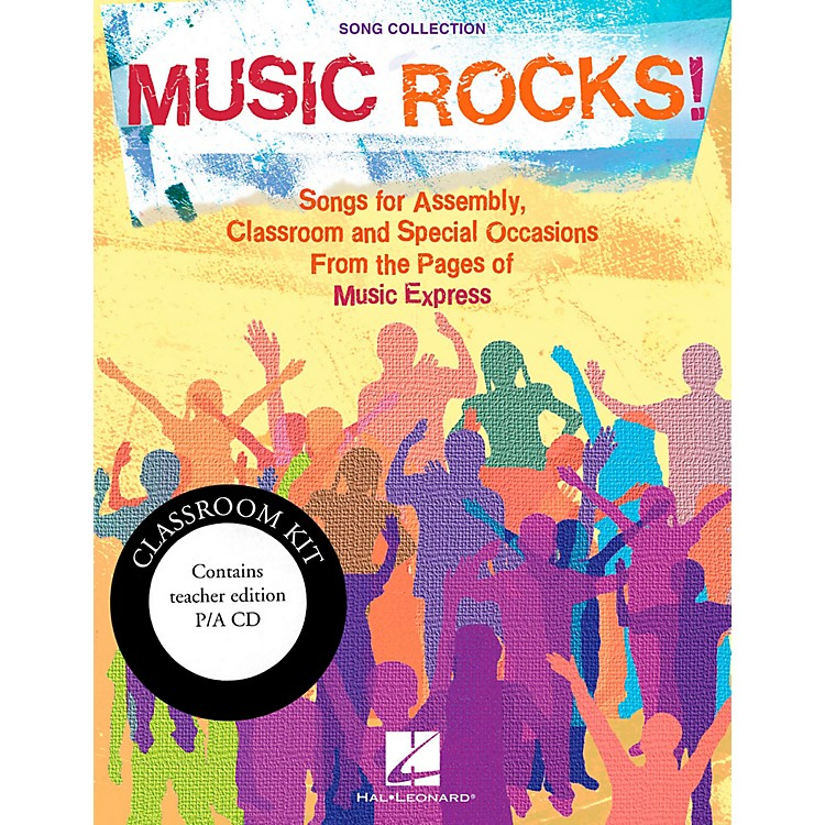 Hal LeonardMusic Rocks!  Songs for Assembly, Classroom and Special Occasions - Classroom Kit