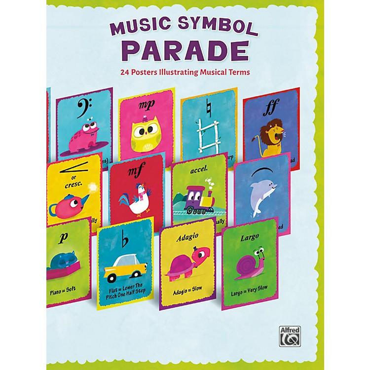 AlfredMusic Symbol Parade 24-Poster Set