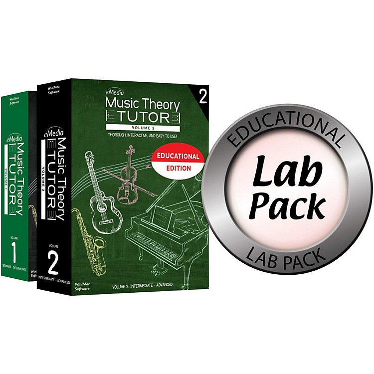 Emedia Music Theory Tutor Lab Pack for 5 Computers