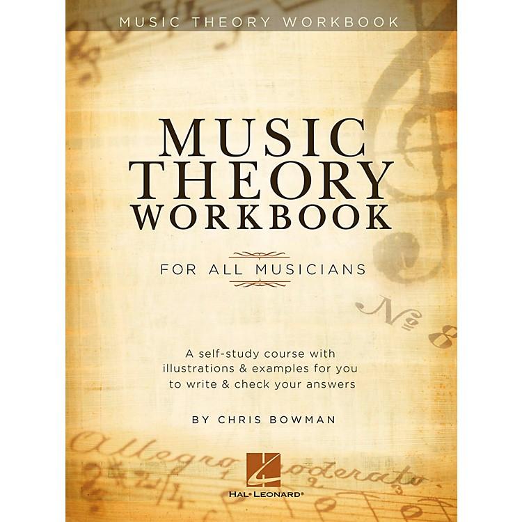 Hal LeonardMusic Theory Workbook For All Musicians