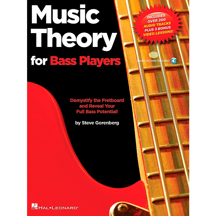 Hal LeonardMusic Theory for Bass Players - Demystify the Fretboard and Reveal Your Full Bass Potential!
