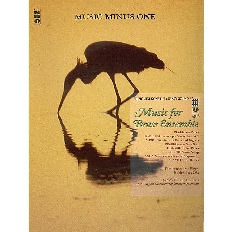 Music Minus OneMusic for Brass Ensemble (Music Minus One Tuba/Bass Trombone) Music Minus One Series Softcover with CD