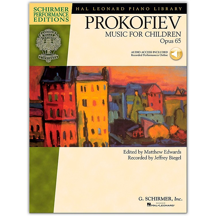 G. SchirmerMusic for Children, Op. 65 Schirmer Performance Edition Book/Online Audio
