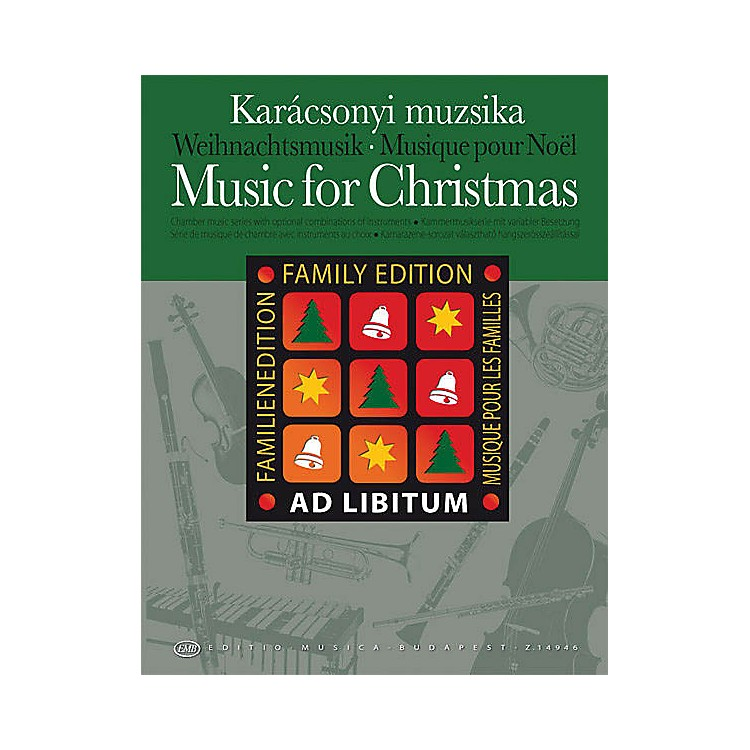 Hal LeonardMusic for Christmas - Family Edition EMB Series by Various