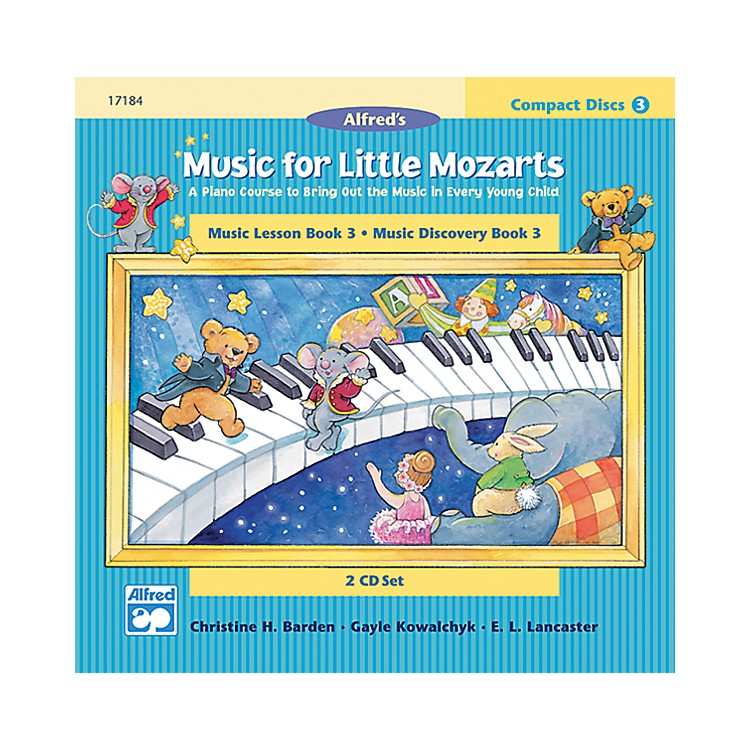 AlfredMusic for Little Mozarts CD 2-Disk Sets for Lesson and Discovery Books Level 3 Level 3