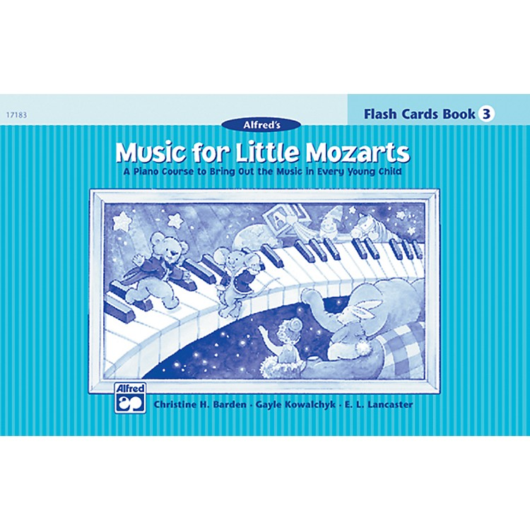 Alfred Music for Little Mozarts Flash Cards Level 3 Level 3
