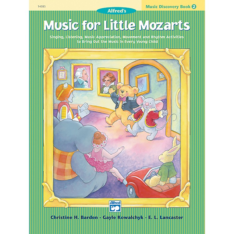 AlfredMusic for Little Mozarts Music Discovery Book 2