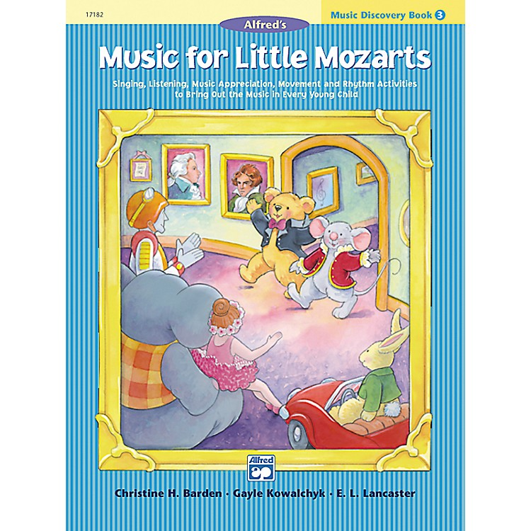 Alfred Music for Little Mozarts: Music Discovery Book 3
