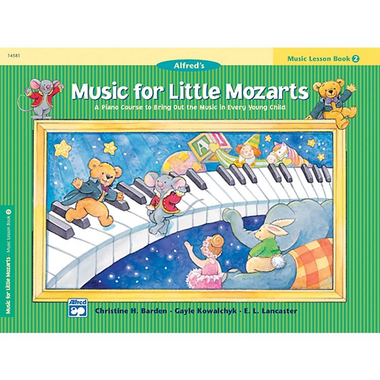 AlfredMusic for Little Mozarts Music Lesson Book 2