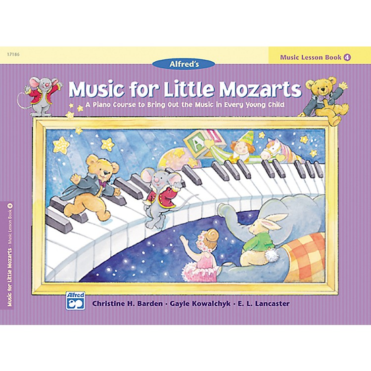 AlfredMusic for Little Mozarts: Music Lesson Book 4