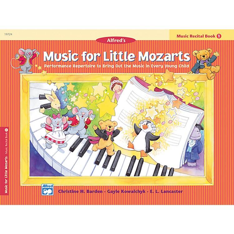 AlfredMusic for Little Mozarts Music Recital Book 1