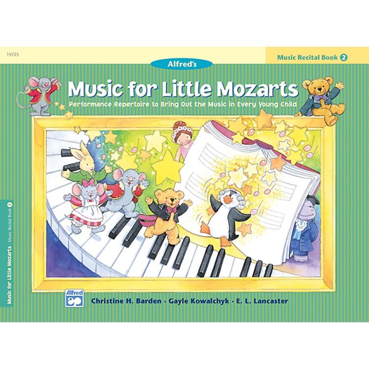 AlfredMusic for Little Mozarts Music Recital Book 2