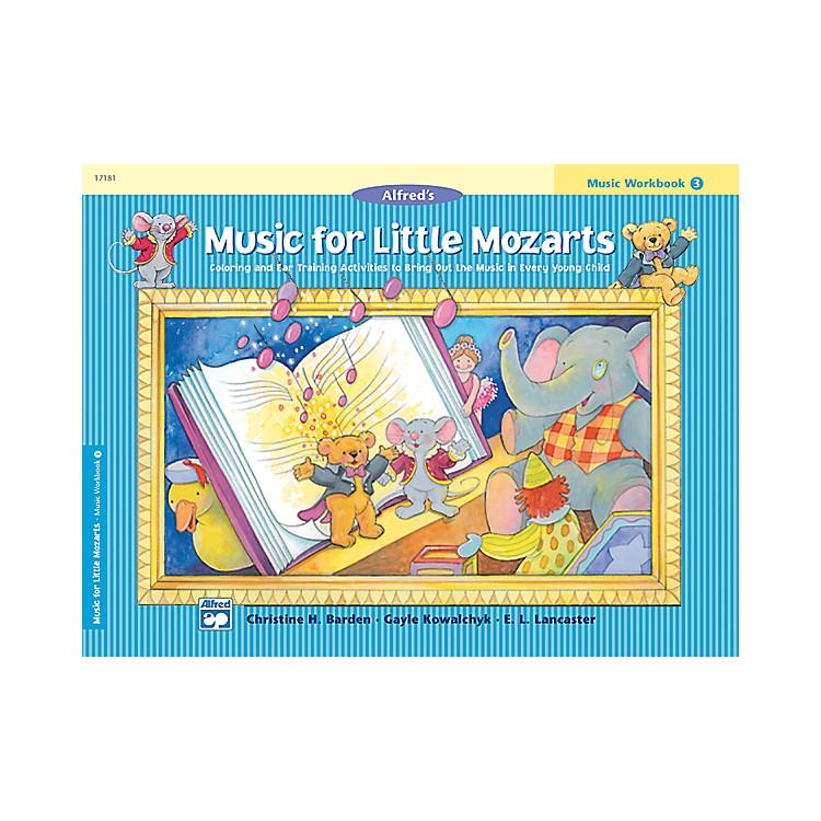 AlfredMusic for Little Mozarts Music Workbook 3 Book 3