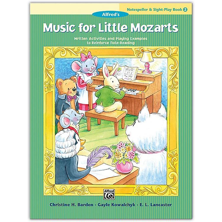 AlfredMusic for Little Mozarts: Notespeller & Sight-Play Book 2