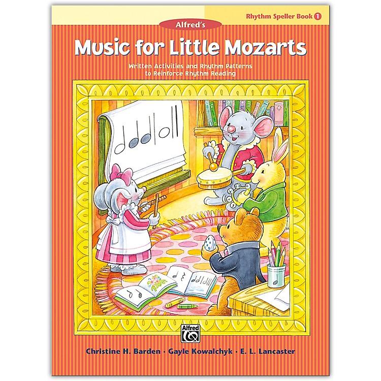 AlfredMusic for Little Mozarts: Rhythm Speller, Book 1 Level 1