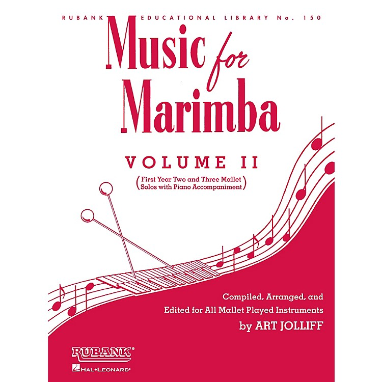 Rubank PublicationsMusic for Marimba - Volume II Rubank Solo Collection Series Softcover