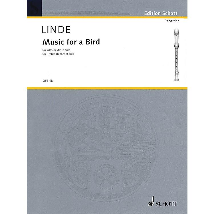 SchottMusic for a Bird (for Treble Recorder) Schott Series
