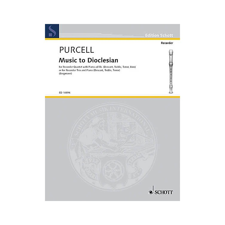 SchottMusic to Dioclesian (Score and Parts) Schott Series