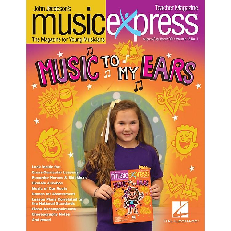 Hal LeonardMusic to My Ears Vol. 15 No. 1 (August/September 2014) Teacher Magazine w/CD Composed by John Jacobson