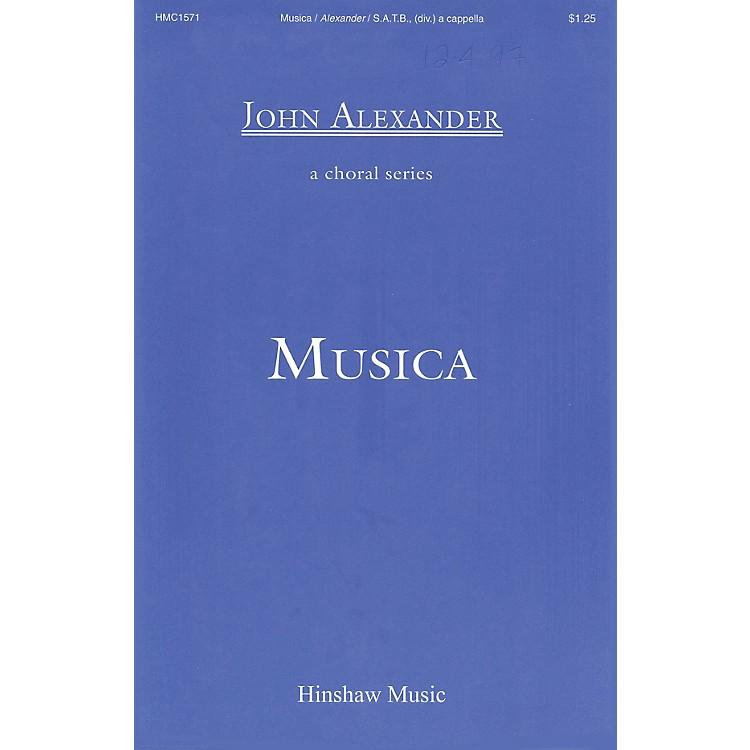 Hinshaw MusicMusica SSAATTBB composed by John Alexander