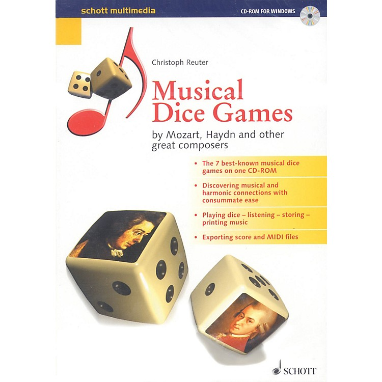 SchottMusical Dice Games (by Mozart, Haydn, and Other Great Composers) Schott Series CD-ROM