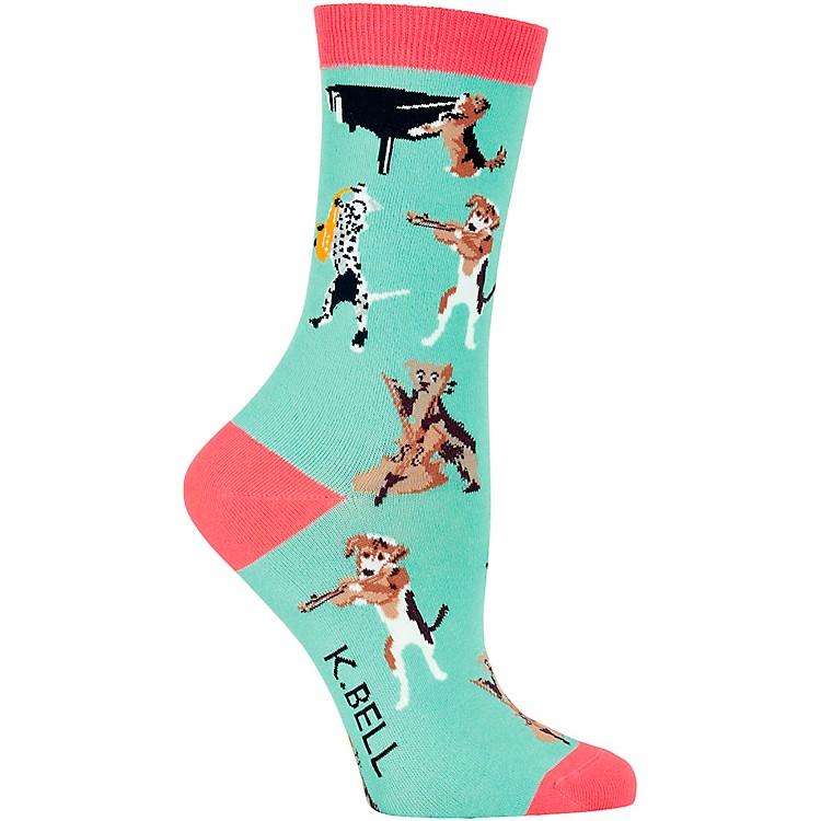 K. BellMusical Dogs Women's Socks