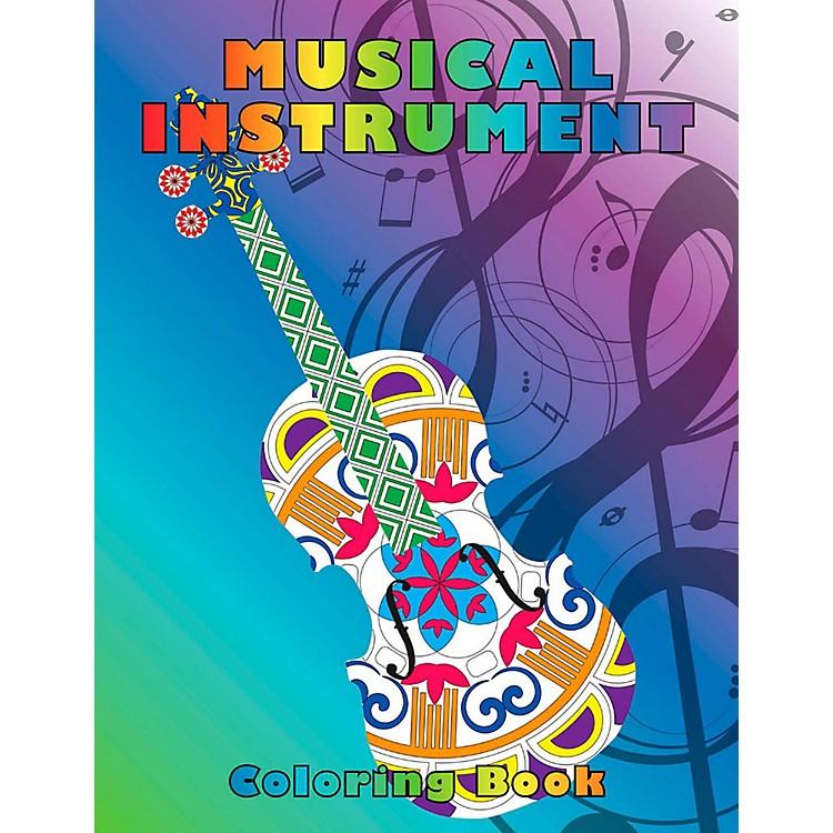 Hal LeonardMusical Instrument Coloring Book