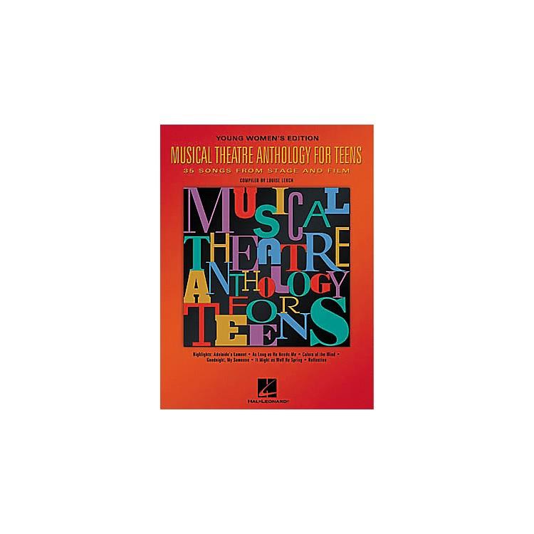 Hal LeonardMusical Theatre Anthology for Teens Book