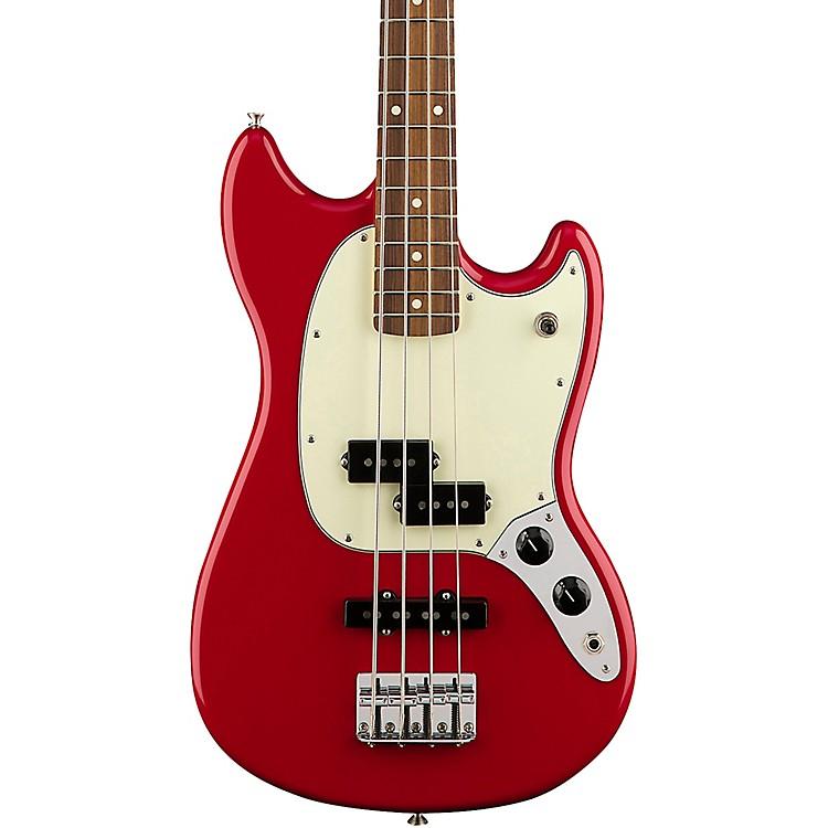 FenderMustang PJ Bass Pau Ferro FingerboardTorino Red