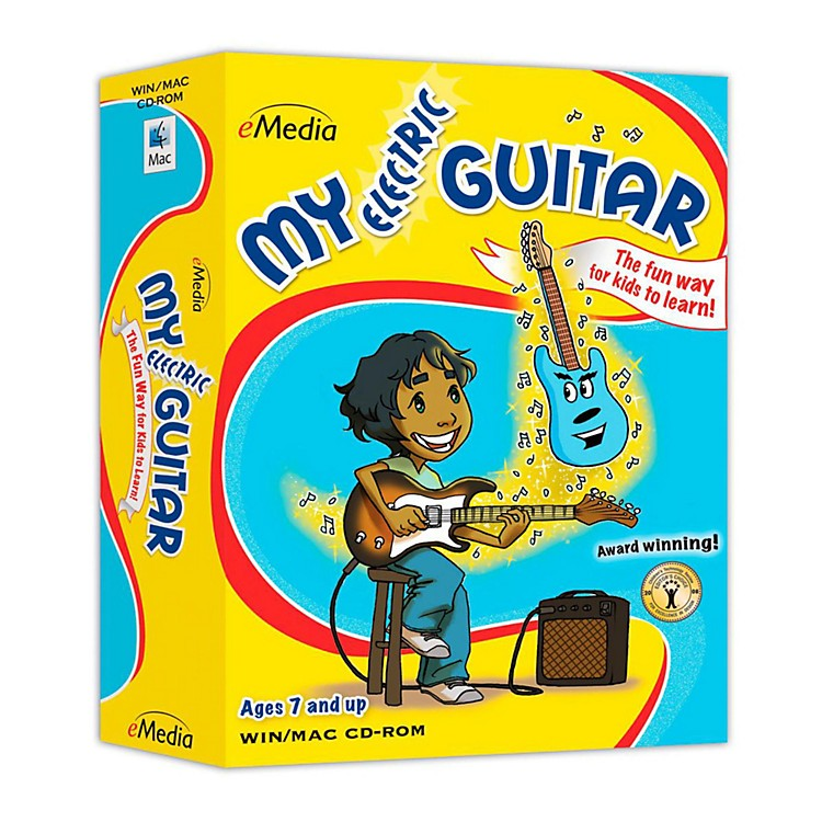 EmediaMy Electric Guitar (CD-ROM)
