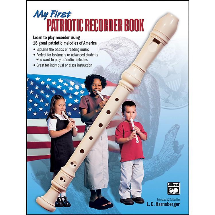 AlfredMy First Patriotic Recorder Book