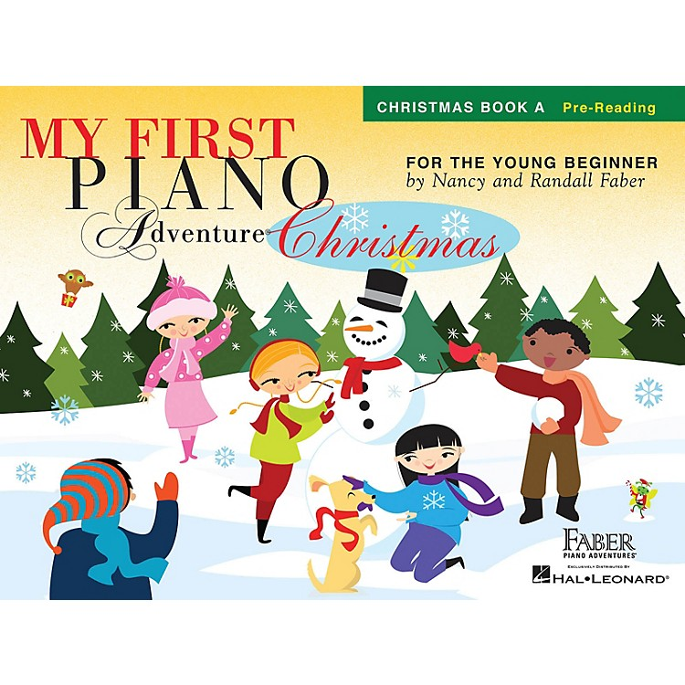 Faber Piano AdventuresMy First Piano Adventure Christmas - Book A Faber Piano Adventures by Nancy Faber (Level Pre-Reading)