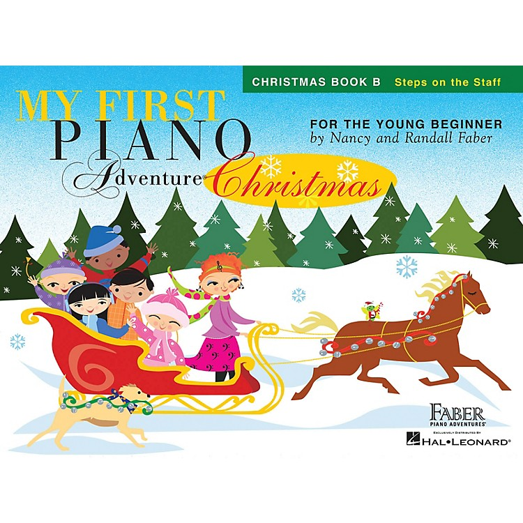 Faber Piano AdventuresMy First Piano Adventure Christmas - Book B Faber Piano Adventures by Nancy Faber (Level Early Elem)
