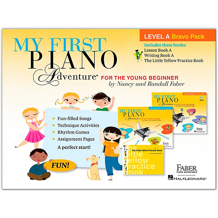 Faber Piano AdventuresMy First Piano Adventure Level A Bravo Pack - For The Young Beginner