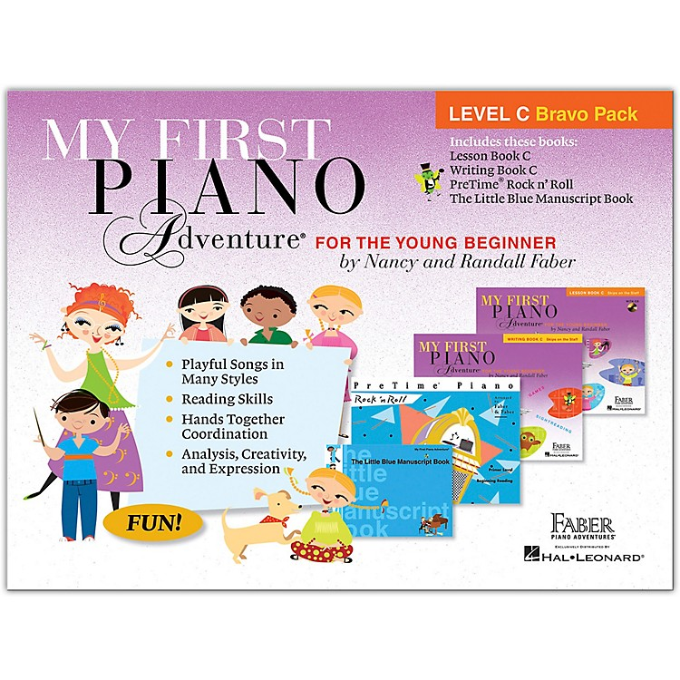 Faber Piano AdventuresMy First Piano Adventure Level C Bravo Pack - For The Young Beginner