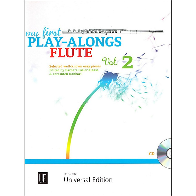 Carl FischerMy First Play-Alongs Volume 2 - Flute with Piano Accompaniment