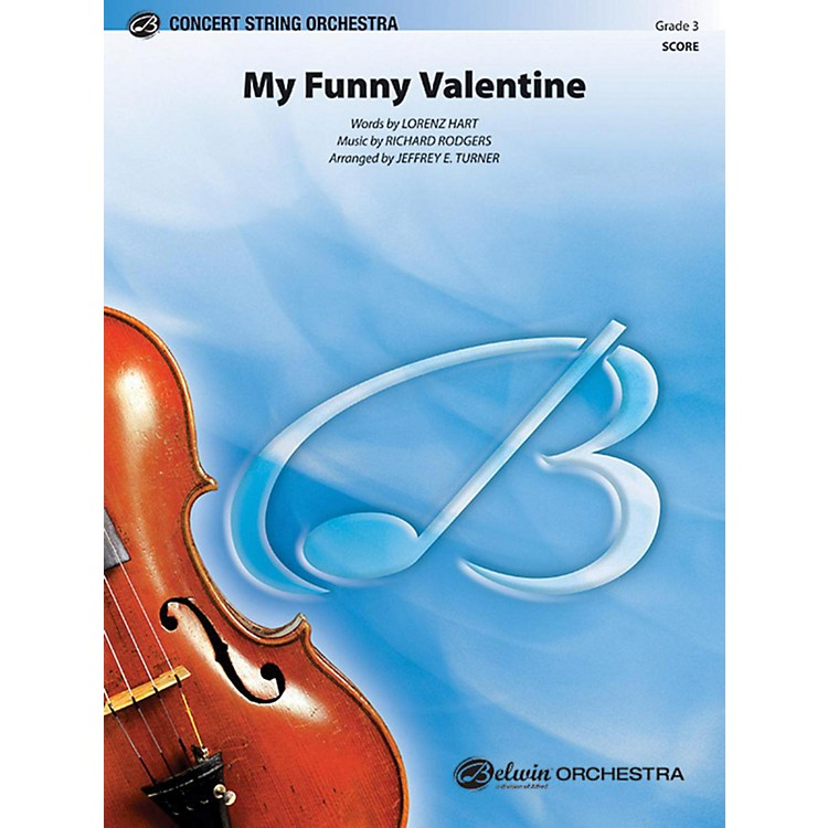 Alfred My Funny Valentine String Orchestra Grade 3