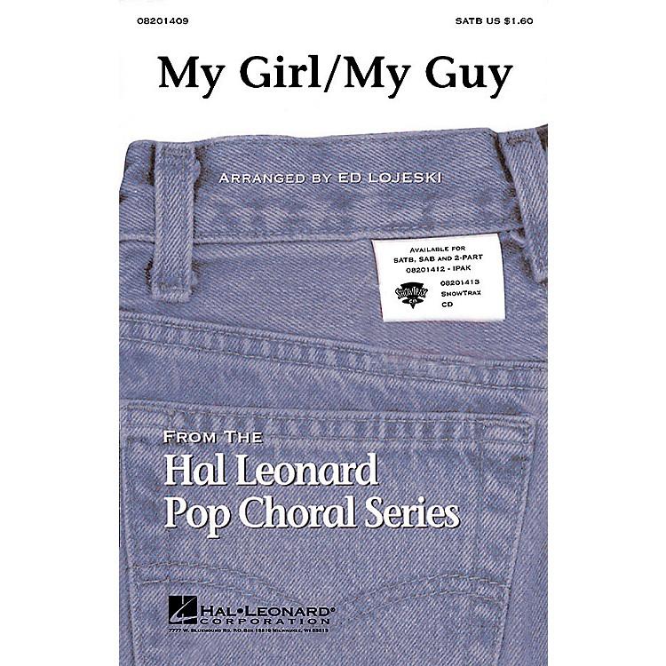 Hal LeonardMy Girl/My Guy ShowTrax CD Arranged by Ed Lojeski